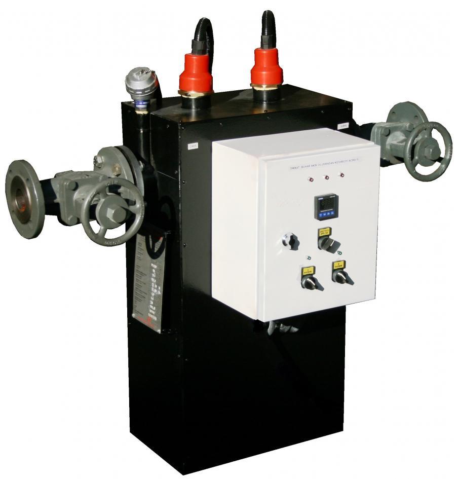 Inline Elektrikli Buhar Kurutucu ve Kızdırıcı