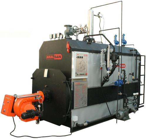Aralsan Heavy Duty Steam Boiler