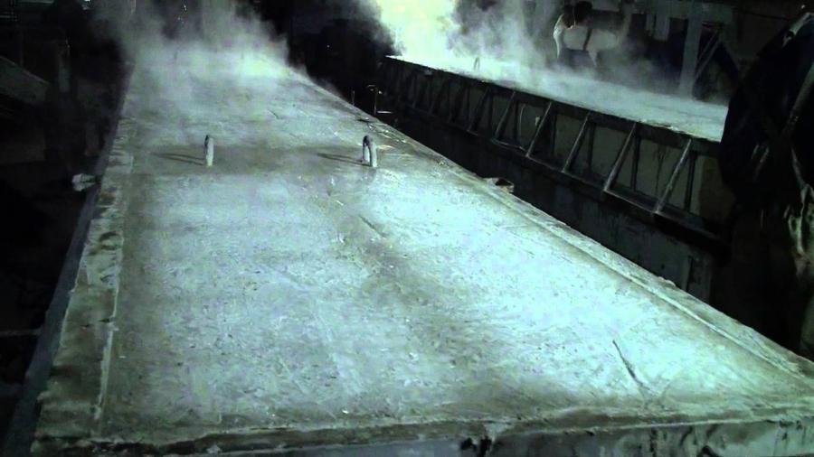 Buhar Kazanı Kullanım Alanı - Beton Kürleme