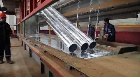 Buhar Kazanı Kullanım Alanı - Galvaniz Boru Üretimi