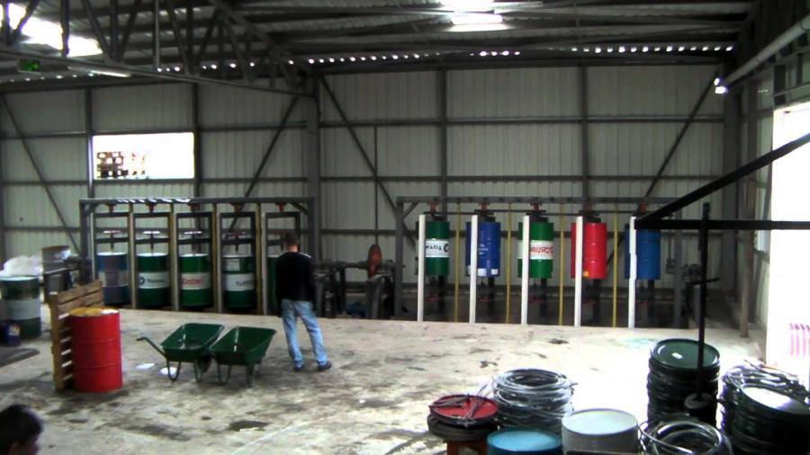 Buhar Kazanı Kullanım Alanı - Varil Yıkama