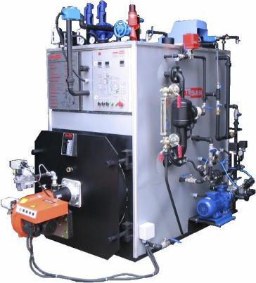 Aralsan Superheated Steam Boiler