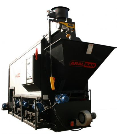 Aralsan Stoker Hot Water Boiler With Movable Grate System