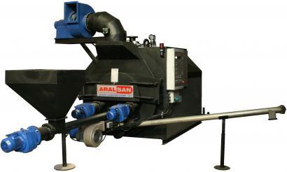 Aralsan Screw Stoker Hot Water Boiler